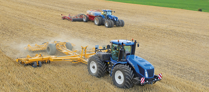 Система TrueTracker™ New Holland