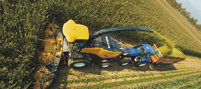Система IntelliSteer® New Holland